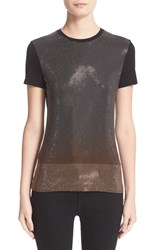 Versace Women's Studded Stretch Jersey Tee