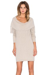 Ella Moss Alice Sweater Dress Beige