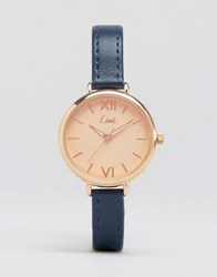 Limit Navy Strap Watch 6076.37 Navy
