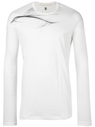 Julius Longsleeved T Shirt White