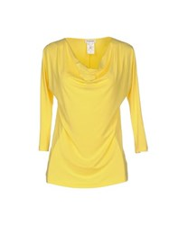 Gran Sasso Topwear T Shirts Women Yellow