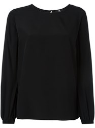 Paul Smith Ps By Rear Keyhole Top Black