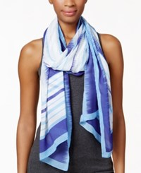 Styleandco. Style And Co. Multi Rectangle Wrap Only At Macy's Blue