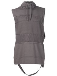 Alexandre Plokhov Sleeveless Sweatshirt Grey