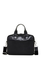 Ugg Branford Leather Slim Briefcase Black