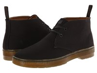 Dr. Martens Mayport 2 Eye Desert Boot Black Overdyed Twill Canvas Men's Lace Up Boots