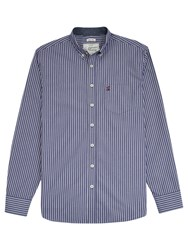 Joules Hensley Stripe Shirt Navy White