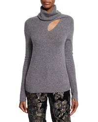 A.L.C. Billy Cashmere Blend Turtleneck Sweater Heather Gray