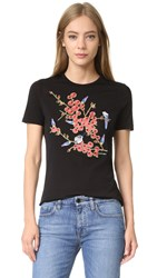 Carven Printed Tee Black