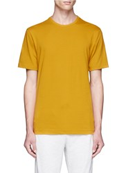 Topman Cotton Jersey T Shirt Yellow