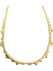 Henson 'Spine' Necklace Yellow And Orange