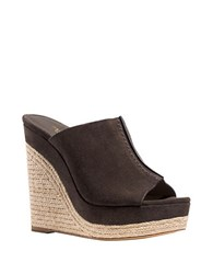 Michael Kors Charlize Wedge Sandals Brown