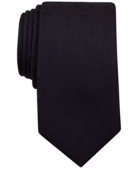 Perry Ellis Men's Floral Textured Classic Tie Black