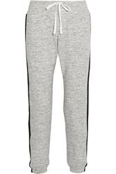 Dkny Avenue D Cotton Blend Jersey Track Pants