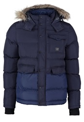 Voi Jeans Explore Winter Jacket Black Iris Dark Blue