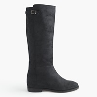 J.Crew Langston Tall Interior Wedge Boots Black