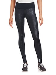 Reebok Kamufle Wide Waist Leggings Black