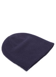 Acne Studios Kape Lambswool Knit Hat Navy