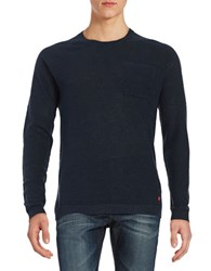 Strellson Chest Pocket Sweater Navy