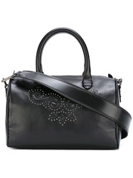 Just Cavalli Studded Tote Bag Black
