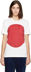 Blue Blue Japan White And Red Flag T Shirt