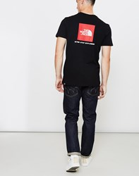 The North Face Black Label Short Sleeve Red Box T Shirt Black