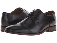 Bostonian Narrate Cap Black Leather Men's Lace Up Cap Toe Shoes
