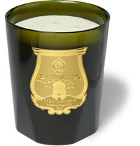 Cire Trudon Ernesto Tobacco And Leather Scented Candle 3Kg Dark Green