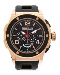 Regatta Yachting Edition Watch Rose Gold Black Orefici Watches Pink