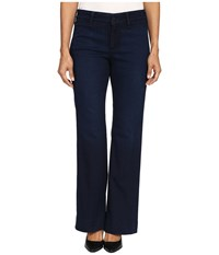 Nydj Petite Teresa Modern Trouser Jeans In Future Fit Denim In Paris Nights Wash Paris Nights Wash Women's Jeans Black