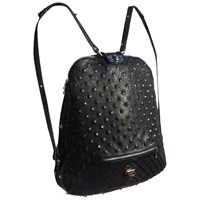 Tika Smooth And Embossed Calfskin Convertible Backpack Multi