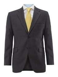 Howick Men's Tailored Georgetown Twill Suit Jacket Grey