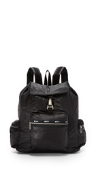 Le Sport Sac 3 Zip Voyager Bag True Black