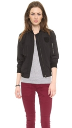 True Religion Flight Jacket Black