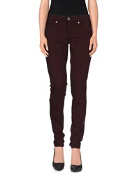 True Religion Trousers Casual Trousers Women Maroon