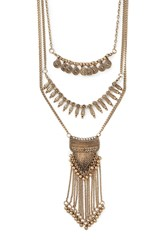 Forever 21 Layered Statement Necklace