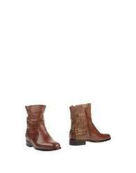 Primabase Ankle Boots Cocoa