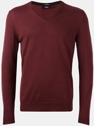 Hugo Boss 'Melba' Pullover Pink Purple