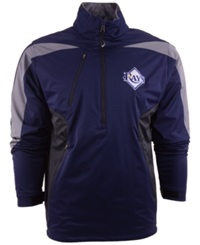 Antigua Men's Tampa Bay Rays Discover Half Zip Jacket Navy Gray