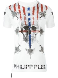 Philipp Plein 'Starlight' T Shirt White