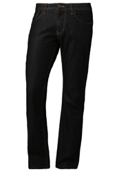 Tom Tailor Marvin Straight Leg Jeans Dark Indigo With Tint Blue