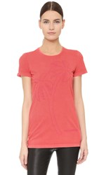 Dsquared Short Sleeve T Shirt Coral