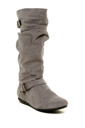 Report Evron Slouch Buckle Boot Gray