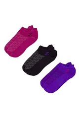 Z By Zella Nylon Back Tab Sport Socks Pack Of 3 Multi