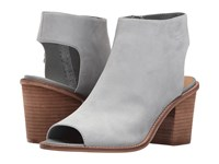Chinese Laundry Calvin Chambray Leather High Heels Gray