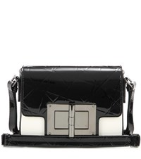 Tom Ford Natalia Small Patent Leather Shoulder Bag Black