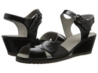 Ara Cadence Black Patent Women's Sandals
