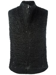 Lost And Found Ria Dunn Funnel Neck Vest Grey