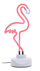 Sunnylife Large Flamingo Neon Light Orange