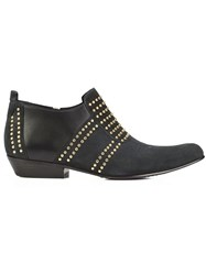 Anine Bing Low 'Charlie' Boots Black